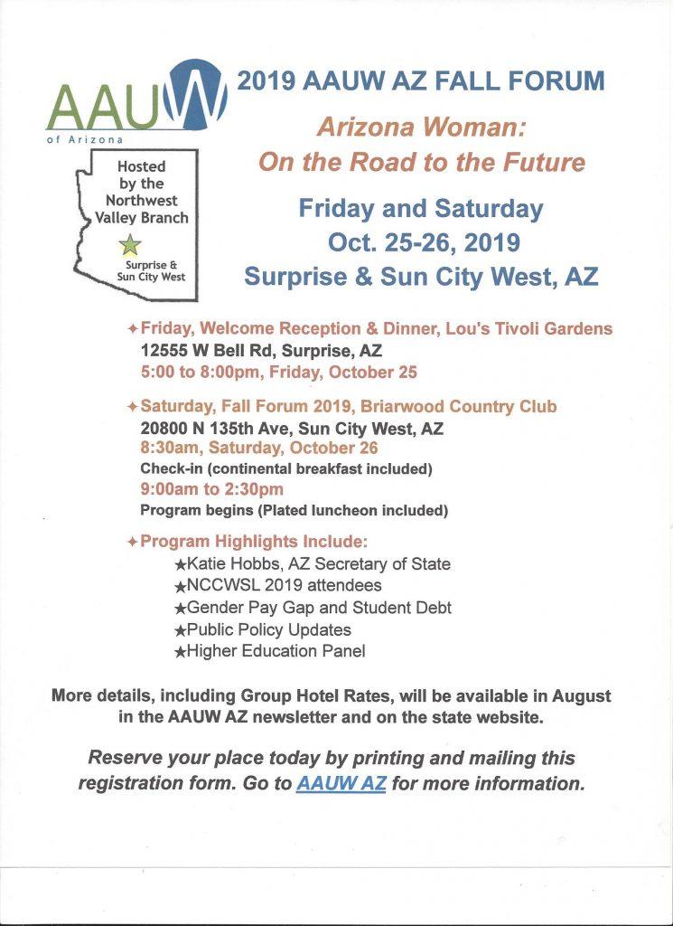 AAUW AAUW AZ Southeast Valley AZ Branch